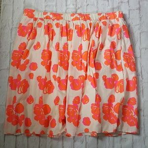 Lane Bryant Floral Circle Skirt